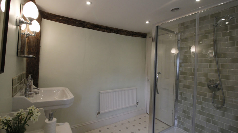 large shower ensuite