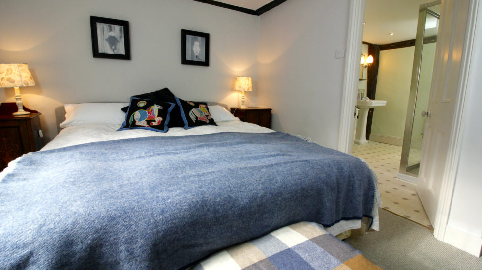 luxurious double room and ensuite