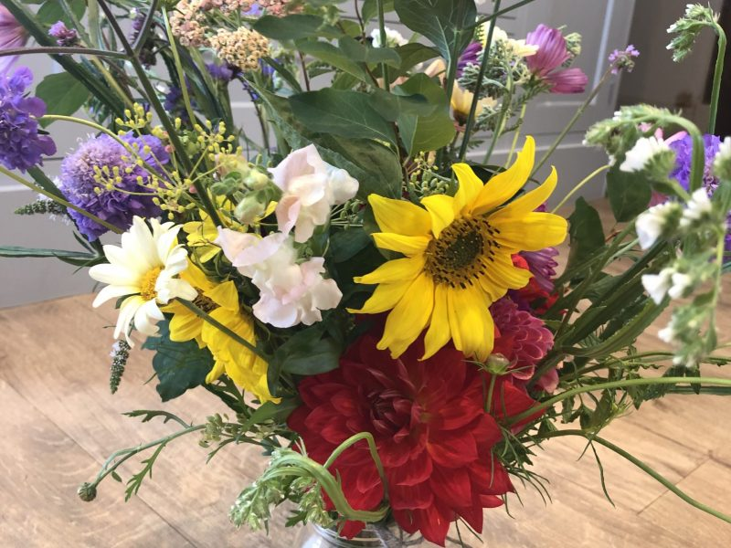 Jam Jar Posey - Bewl Rookery Flowers