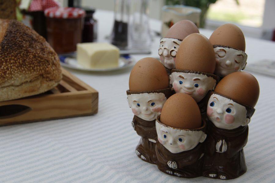 breakfast free range eggs